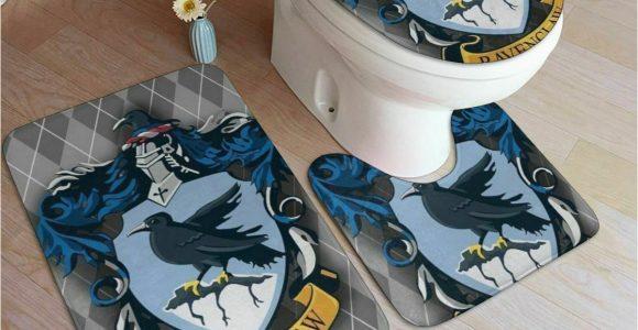 Harry Potter Bathroom Rug Harry Potter Ravenclaw Non Slip Bathroom Pedestal Lid Bath