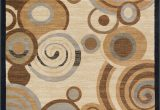 Hartle Brown Beige area Rug Hartle Abstract Beige area Rug