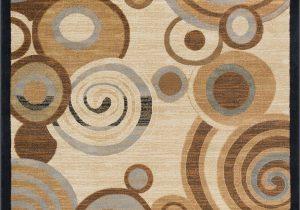 Hartle Brown Beige area Rug Hartle Abstract Beige area Rug