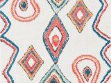 Hassett Ivory Blue area Rug Hassett Power Loom Ivory Blue Rug