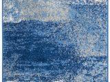 Haugan Blue area Rug Costa Mesa Abstract Silver Blue area Rug