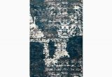Haugan Blue area Rug Hackleburg Abstract Silver Blue area Rug