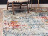 Haugan Blue area Rug Lonerock Abstract Cream Blue area Rug