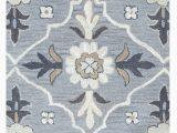 Haugan Blue area Rug Vihaan Hand Tufted Wool Blue area Rug