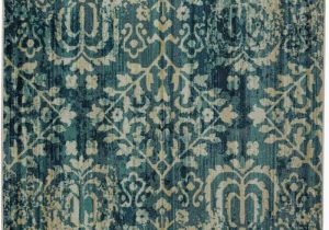 Hayes Blue area Rug Technicolor Hayes Blue Brown area Rug