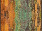 Hayes Blue Green area Rug Hayes Abstract Beige Brown Gold Light Blue orange area Rug