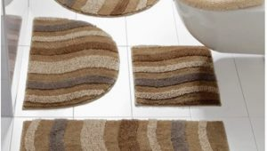 Heated Bath Mat Rug Heine Home Bath Mat Bath Rug Waves In Brown Beige Size 45 X