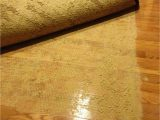 Heating Pad for Under area Rugs Latex Rug Backing Stuck to Floor