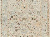 Hillsby Light Gray Beige area Rug oriental Hand Knotted Wool Beige area Rug