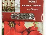 Holiday Bath Rug Set Amazon Com Christmas 14 Piece Bath Set Poinsettia Shower
