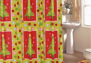 Holiday Bath Rug Set Bright Holiday 4pc Bath Set
