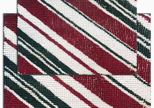 Holiday Bath Rug Set Idea Nuova Candy Stripe 2 Pc Bath Rug Set Reviews Bath