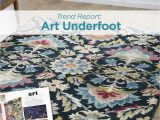 Home and Garden area Rugs Art Underfoot Trend Bhg Trend