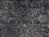 "Home Decorators Ethereal area Rug Karelia Ethereal Steel Gray 3 11""x5 11"" area Rug"