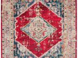 Home Depot area Rugs 8 by 10 Monaco Marsan Ivory Red 8 Ft X 10 Ft area Rug
