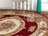 Home Depot area Rugs 8 by 10 Well Woven Timeless Le Petit Palais Traditional Medallion