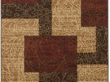 "Home Dynamix Catalina Pierre area Rug Signature Design by ashley Rosemont Collection Rug 5 2 X 7 2"" Red Brown Gold"