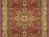 "Home Dynamix Royalty Collection area Rug Home Dynamix Royalty Ursa Runner area Rug 1 9""x7 2"" Border Red"