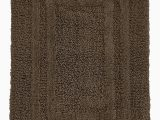 Hotel Collection Bathroom Rugs Hotel Collection Cotton Reversible 18 Inches X 25 Inches Bath Rug Pamper Your Feet with This Super soft Reversible Bath Rug Chocolate