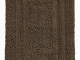 Hotel Style Brand Bath Rugs Hotel Collection 100 Cotton Reversible 18 Inches X 25 Inches Bath Rug Pamper Your Feet with This Super soft Reversible Bath Rug Chocolate