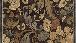 "Huntington Home Shag area Rug Huntington 1279e area Rug 5 0"" X 7 6"" Brown"