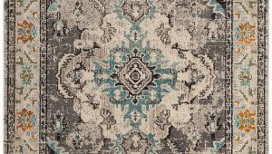 Indira Gray Light Blue area Rug Indira oriental Gray Light Blue area Rug
