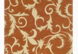 Indira Gray orange area Rug Columban Floral Handmade Tufted orange area Rug