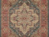 Isanotski Brown Blue area Rug Birch Lane™ Heritage Othello Red area Rug