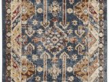 Isanotski Brown Blue area Rug isanotski Brown Blue area Rug