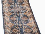 Isanotski Brown Blue area Rug isanotski Persian Inspired Brown Blue area Rug with Images