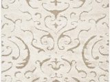 Ivory and Cream area Rugs Safavieh Florida Shag Sg462 1113 Cream and Beige area Rug