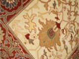 Ivory and Red area Rugs org Ziegler Mahal Ivory Red area Rug Last Chance