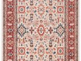 Ivory and Red area Rugs Safavieh Charleston Chl412a Ivory Red area Rug