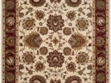 Ivory and Red area Rugs Safavieh Royalty Roy254a Ivory Red area Rug