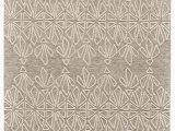 Ivory and Taupe area Rug Grider Handmade Tufted Ivory Taupe area Rug