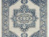 Ivory Blue area Rug Nourison Persian Vintage Prv01 Ivory Blue area Rug