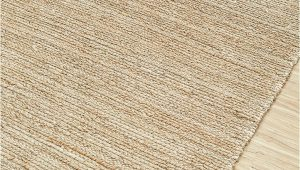 Jute and Chenille area Rug Pdjr 01 Cream Cream