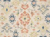 Kasuri Blue Multi Rug Kasuri Kb 06 Ivory Mosaic area Rug Magnolia Home by Joanna Gaines