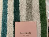 Kate Spade Bathroom Rugs Nwt Kate Spade 21×34 Inch Candy Stripe Bath Rug
