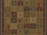 Kathy Ireland area Rugs by Shaw Buckingham Multi Rug From the Shaw Rugs Collection at Modern