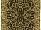 Kathy Ireland area Rugs by Shaw Shaw Living Kathy Ireland Home First Lady 9 Foot 6 Inch by 13 Foot 1 Inch Rug In Empress Garden Pattern Old Republic Black