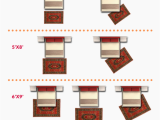 King Bed area Rug Size What Size Rug for A King Bed Chart Layout Designs