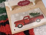 Kohls Christmas Bath Rugs Nwt St Nicholas Square Christmas Bath Rug Mat Farm Truck 20 X 30