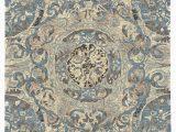 Kujawa Blue area Rug Mooney Abstract Handmade Tufted Beige Blue area Rug