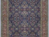 "Large area Rugs 12 X 18 E Of A Kind Mahajaran Handwoven 12 X 18 6"" Wool Purple Blue area Rug"
