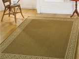 Large area Rugs Under 100 Lord Of Rugs Contemporary Flat Weave Bordered Brown area Rug In 120 X 170 Cm 4 X 5 6 Carpet