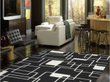 Large Black and White area Rug Cheap Black and White area Rug for Living Room Under $ 100