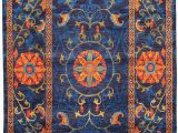 Large Blue Wool Rug Amazon Ecarpet Gallery area Rug for Living Room