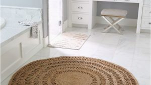 Large Circle Bathroom Rug the Round Jute Rug that Looks Good Everywhere the