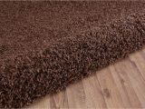 Large Dark Brown area Rugs Brown Shaggy soft Modern Carpet Large Thick 5cm